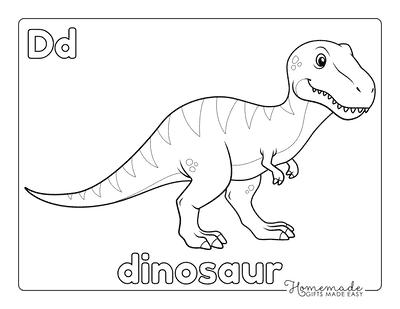 Dinosaur Coloring Pages Megalosaurus for Preschoolers