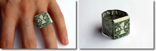 dollar bill ring header