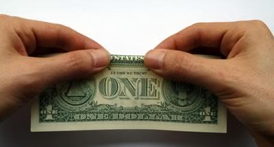 dollar bill ring step 1b