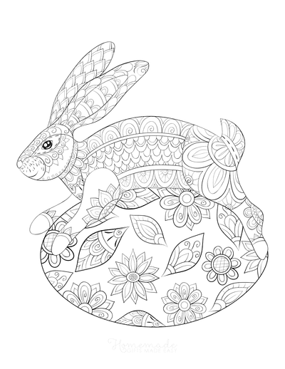 100 Easter Coloring Pages For Kids Free Printables
