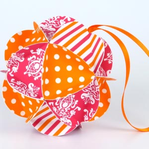 easy to make christmas ornaments geodesic