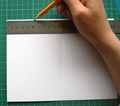 fathers day cards to make step 1