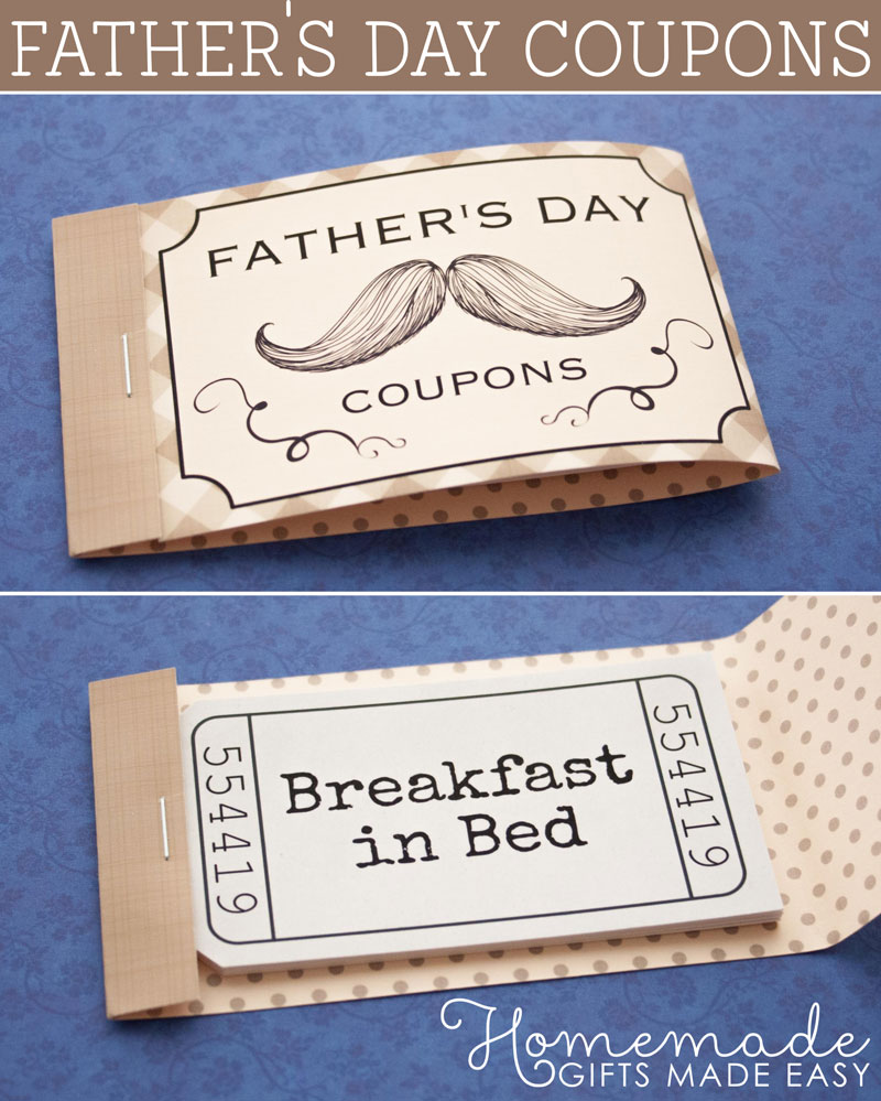 fathers day coupons to download  personalize  and print