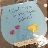 homemade valentine gifts - fishtastic cards for classmates