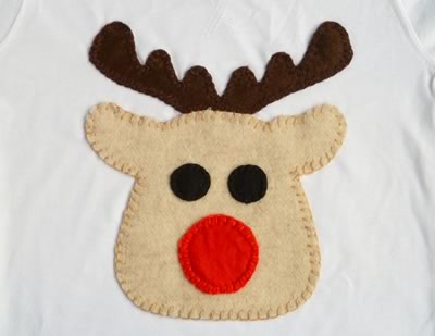 free applique patterns - reindeer