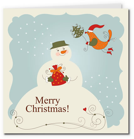 Free Printable Christmas Card Gallery
