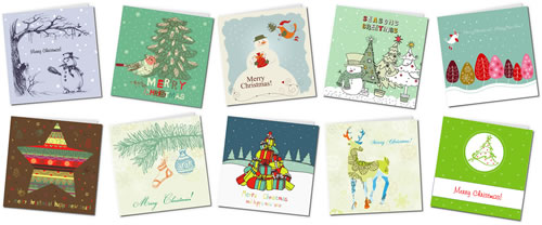 free printable christmas cards gallery 1