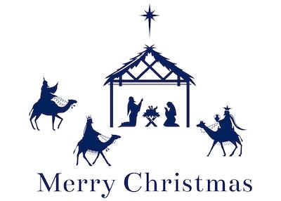 Free Printable Christmas Cards Baby Jesus Manger Mary Joseph 3 Kings