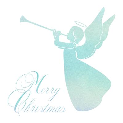 Free Printable Christmas Cards Merry Angel