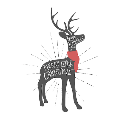 Free Printable Christmas Cards Merry Deer