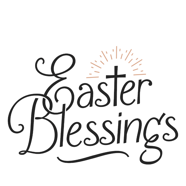 free printable easter cards - Christian blessings