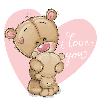 Free Printable Mothers Day Cards Cute Teddies I Love You