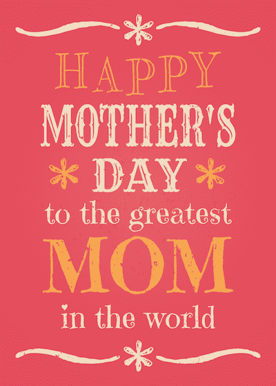Free Printable Mothers Day Cards Greatest Mom