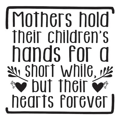 Free Printable Mothers Day Cards Hands Hearts