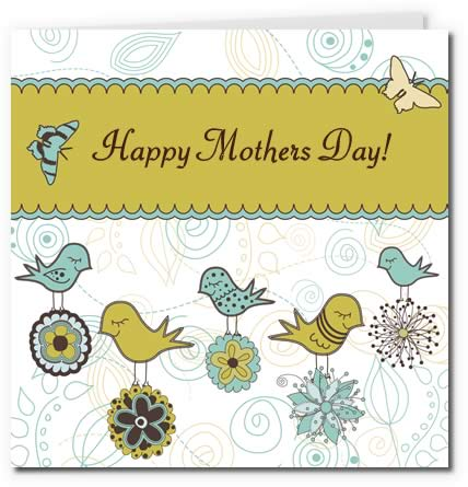 picture about Printable Mothers Day Cards to Color named 7 Beautiful Absolutely free Printable Moms Working day Playing cards - Superior Excellent