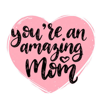 Free Printable Mothers Day Cards Pink Heart Amazing Mom