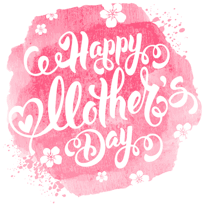 Free Printable Mothers Day Cards Pink Watercolor Hibiscus