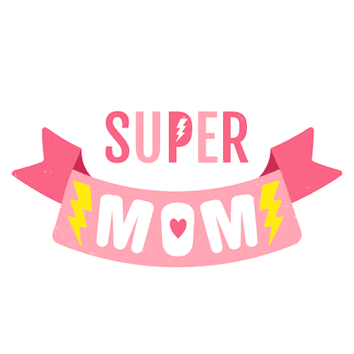 Free Printable Mothers Day Cards Super Mom Pink