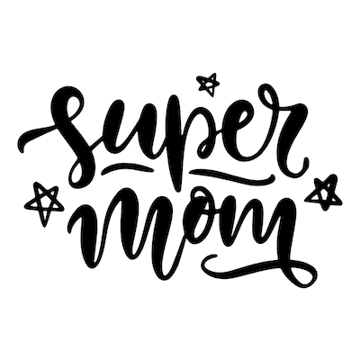 Free Printable Mothers Day Cards Super Mom Stars