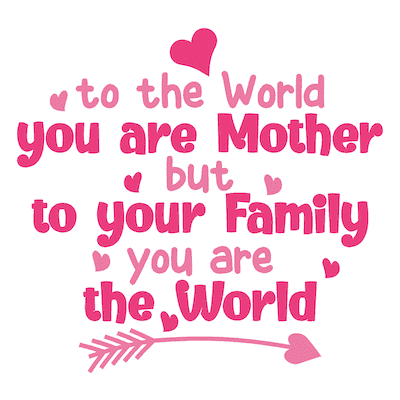 Free Printable Mothers Day Cards You Are the World