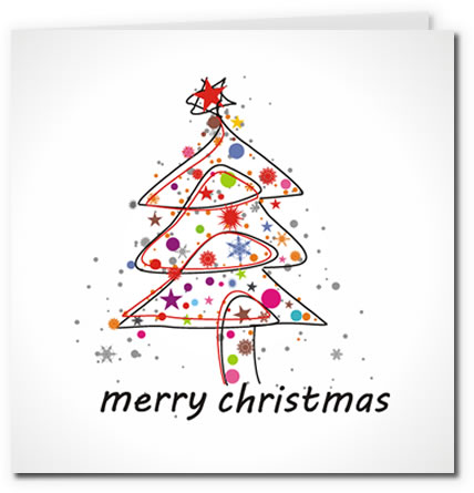 photo about Free Printable Christmas Cards to Color called Free of charge Printable Christmas Playing cards Gallery