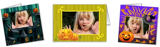 halloween photo cards header