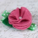 homemade baby gifts hair clip