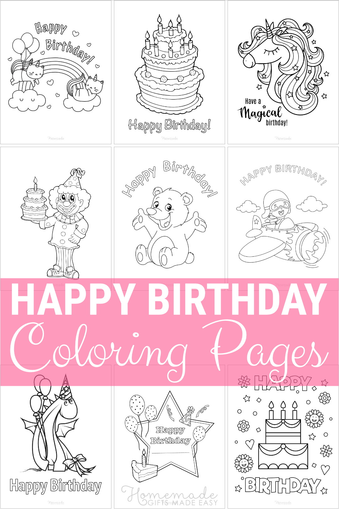 happy birthday coloring pages - star certificate