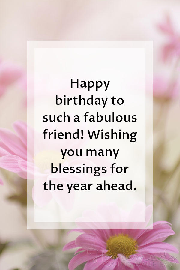 Happy Birthday Images Fabulous Friend Blessings 600x900