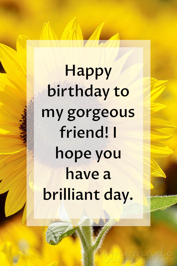 happy birthday images gorgeous friend 600x900