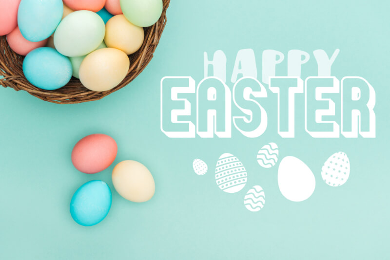 Happy Easter Wishes, Messages and Quotes for Easter Cards