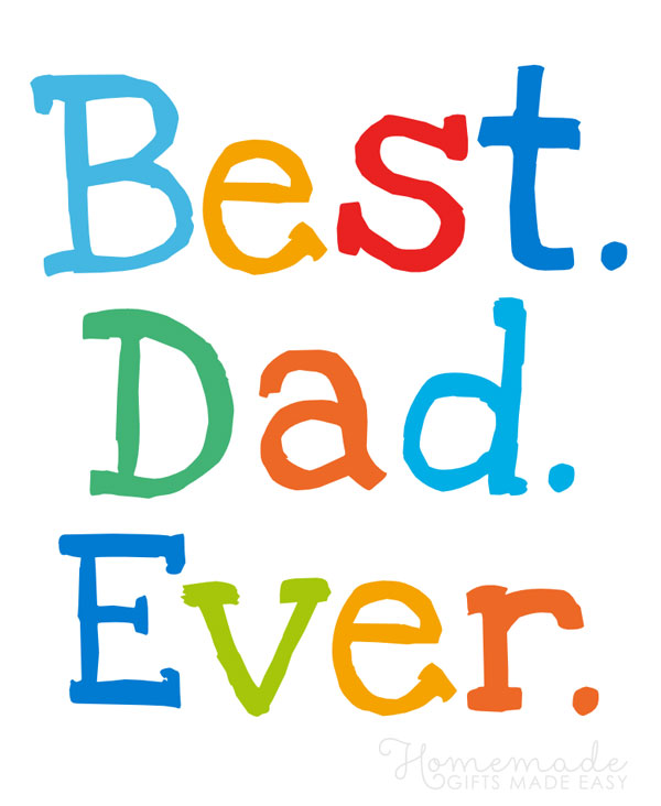 happy fathers day images best dad ever colorful 600x732