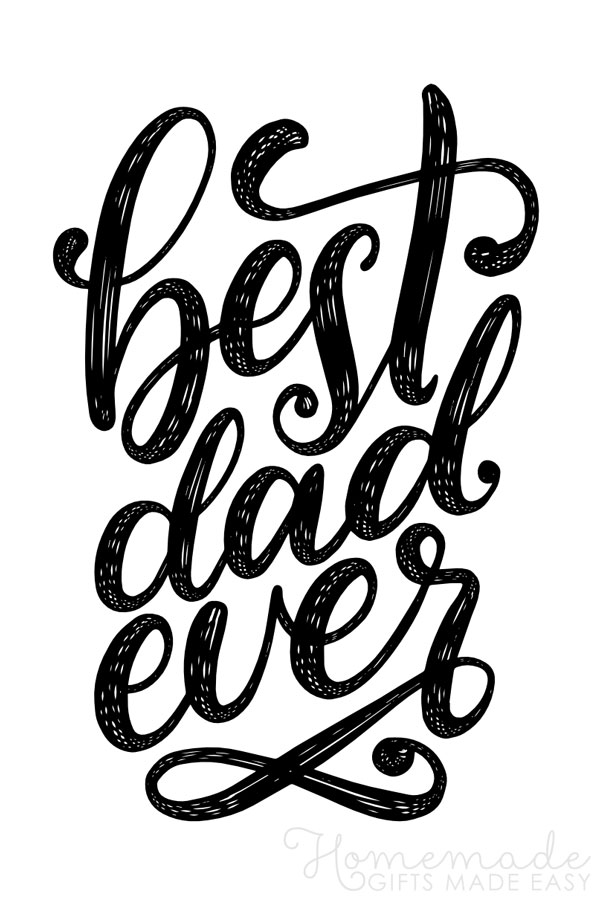 happy fathers day images best dad ever script 600x900
