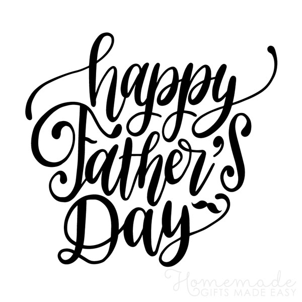 happy fathers day images happy script 600x600