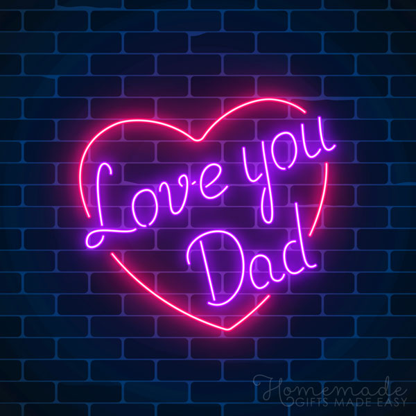 happy fathers day images neon sign 600x600