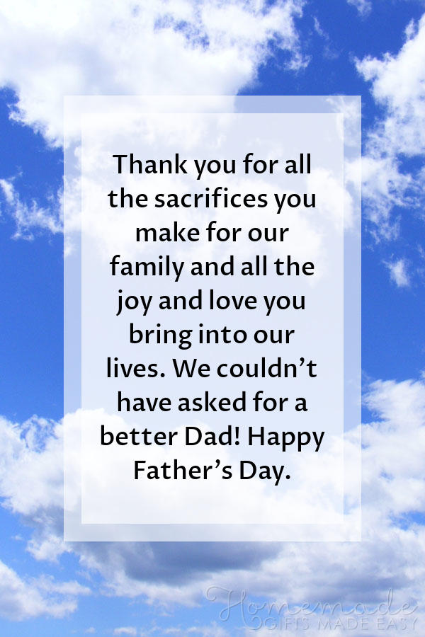happy fathers day images sacrifices joy love 600x900