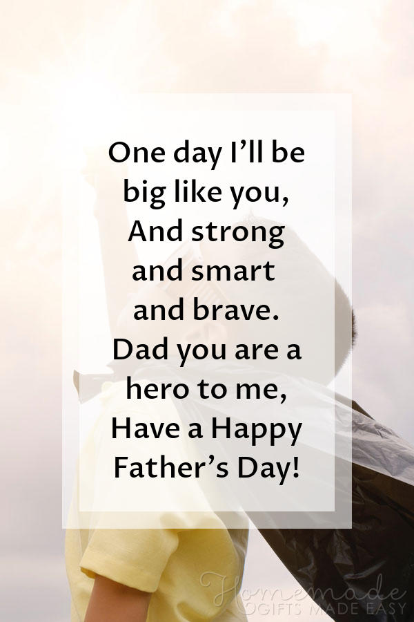happy fathers day images strong smart brave poem 600x900