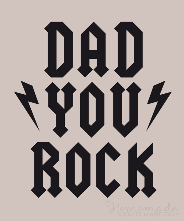happy fathers day images you rock dad 600x722