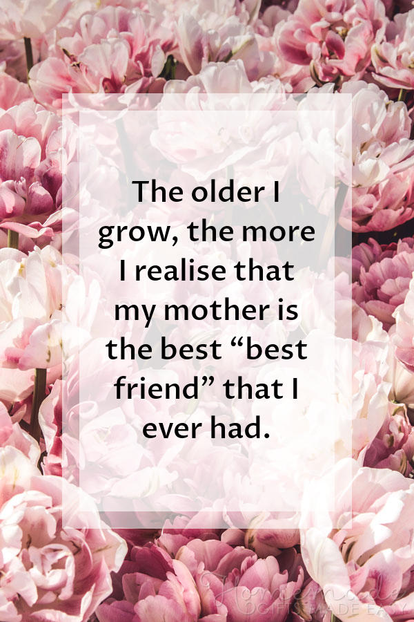 80+ Sweet Mother\'s Day Quotes For Your Mom on Mother\'s Day