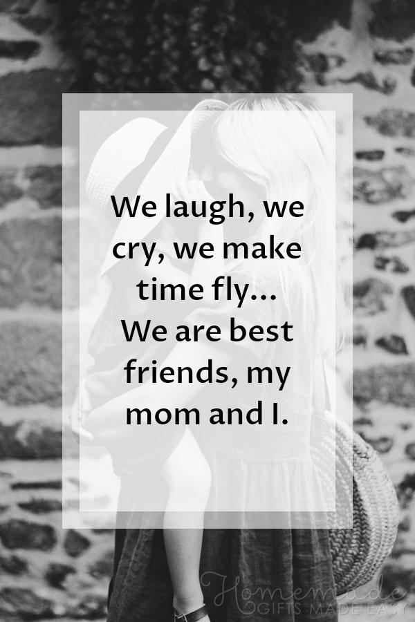 happy mothers day images laugh cry time fly 600x900
