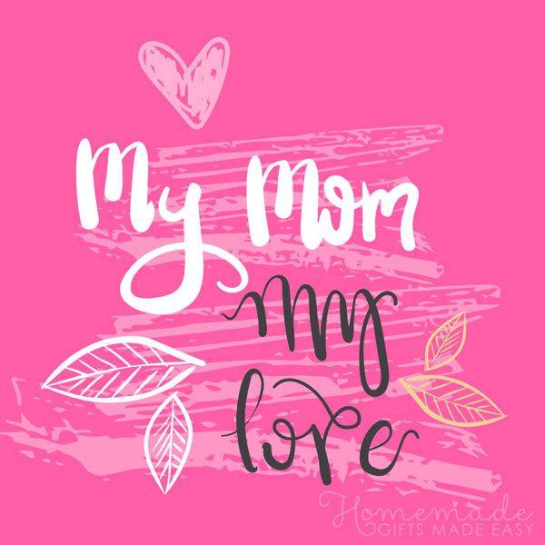 happy mothers day images my mom my love 600x600
