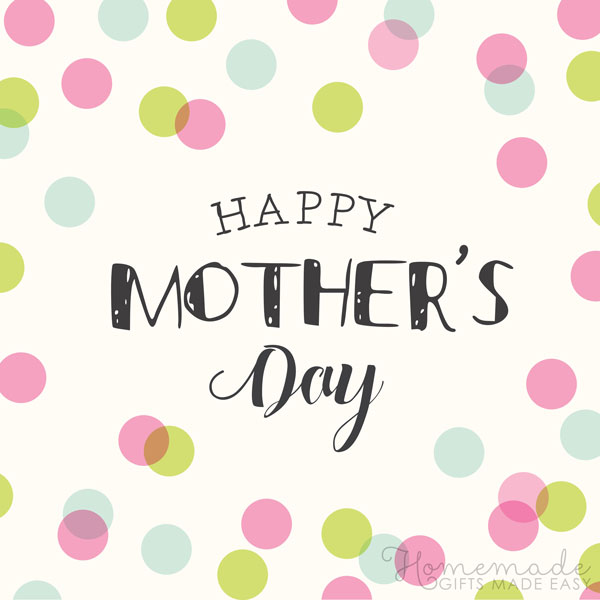 happy Mother's Day images spots 600x600