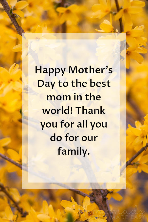 happy mothers day images thanks family 600x900