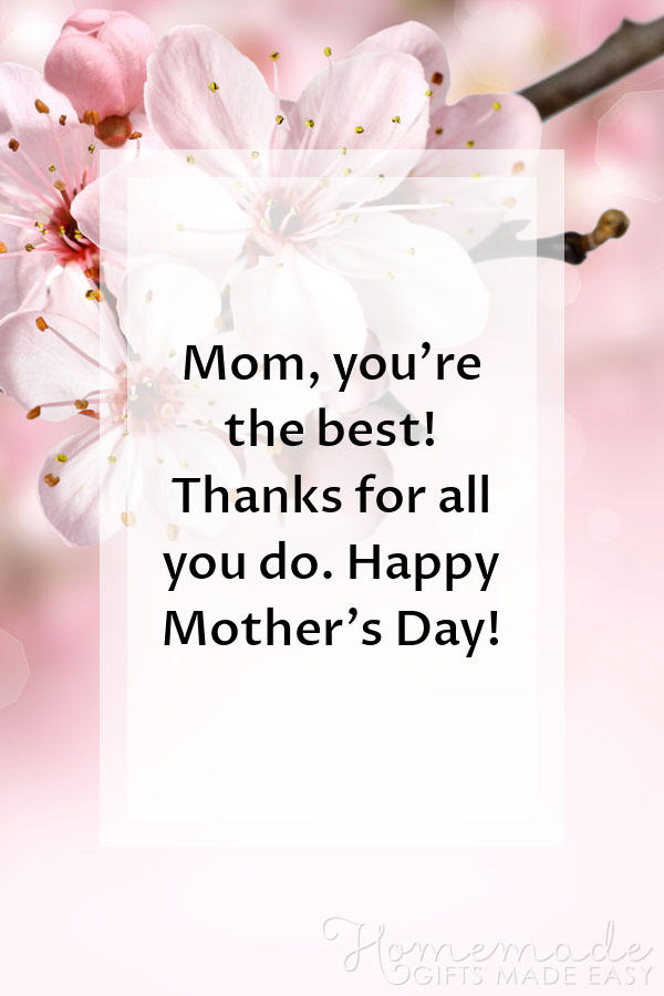 happy mothers day images thanks for all you do 600x900