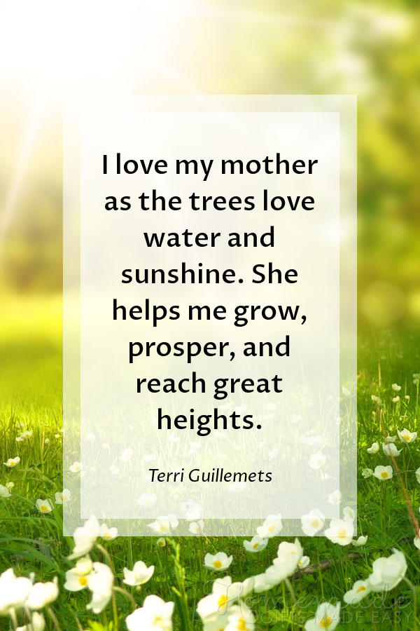 happy Mother's Day images trees love water 600x900