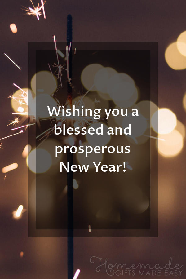 happy new year images blessed prosperous 600x900