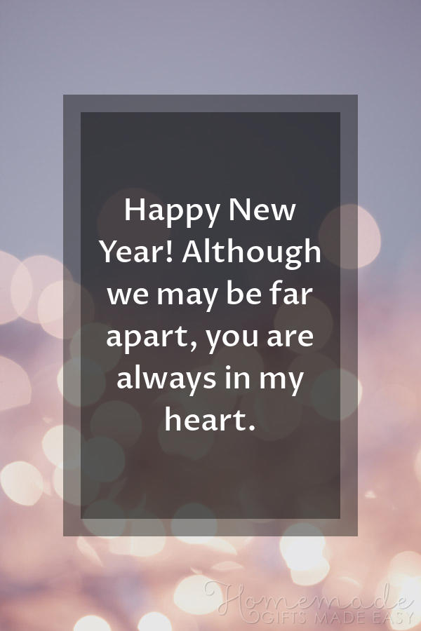 happy new year images far apart heart 600x900