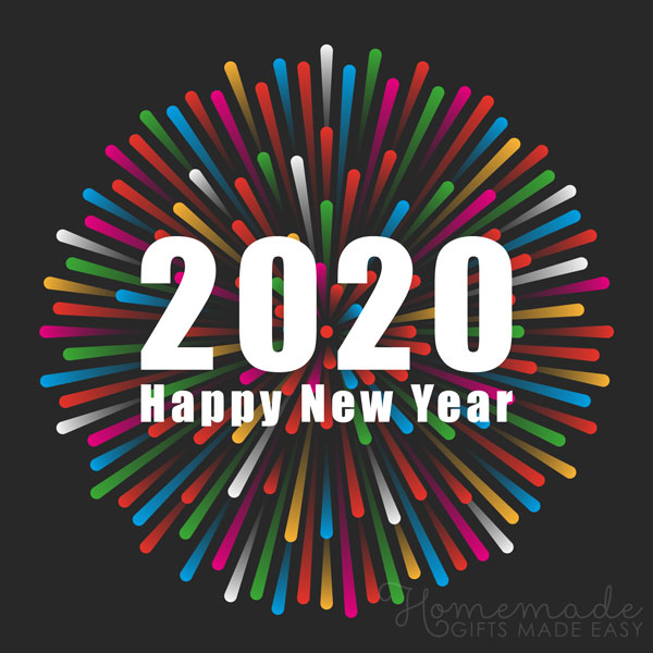 happy new year images 2020 fireworks