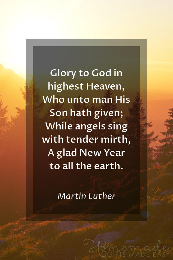 happy new year images glory god luther 600x900