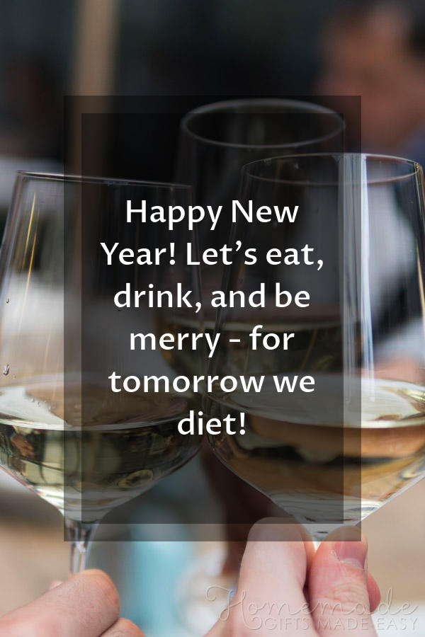 happy new year images tomorrow we diet 600x900